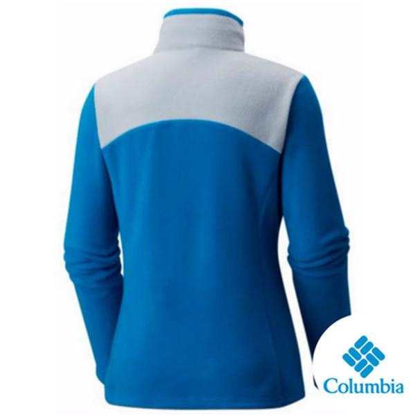 Columbia 女 保暖刷毛夾克 藍 UAR04950BL【GO WILD】