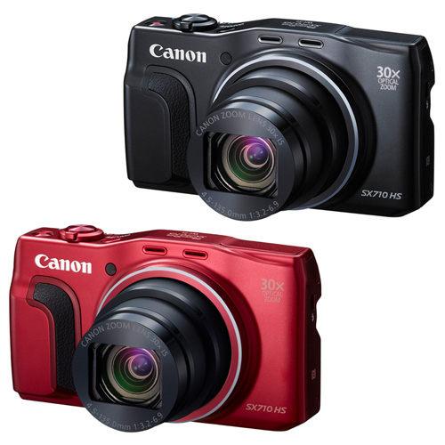 [ 全店紅 ] Canon SX710 HS 30倍光學變焦 (平輸) 送16G全配