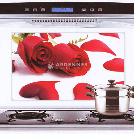 【ARDENNES】藝術防油貼/牆貼/居家佈置 玫瑰花KS011