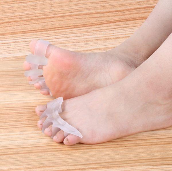 五趾分趾器拇外翻矯正器分離腳指頭重疊大拇指日夜用可穿鞋 曼莎時尚