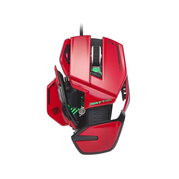 Mad Catz R.A.T. 8+ ADV 光學電競滑鼠|極速掌握 非凡之力|WitsPer智選家