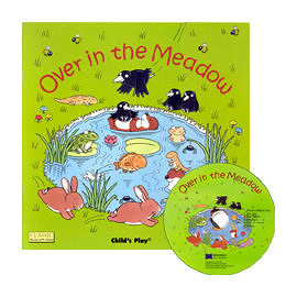 『鬆聽出英語力--第36週』- OVER IN THE MEADOW / 書+CD 《主題: 歌謠故事》(JY版)