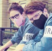 全館79折-口罩黑防塵透氣潮款時尚正韓防曬可清洗易呼吸防霧霾男女個性眼鏡