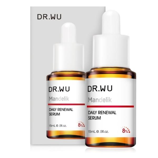 DR.WU杏仁酸溫和煥膚精華15ML