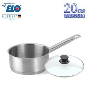 【德國ELO】不鏽鋼單柄湯鍋(20CM)