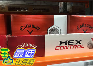 [COSCO代購] CALLAWAY 3-PIECE GOLF BALL三層高爾夫球24入 HEX CONTROL系列 C791191