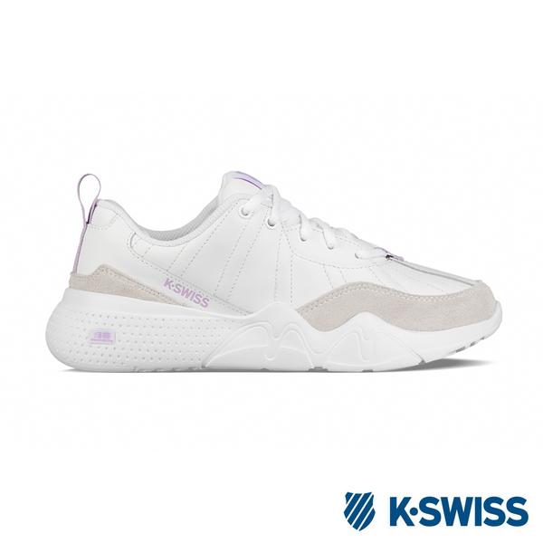 K-SWISS CR-329 LTR 休閒運動鞋-女-白/粉紫