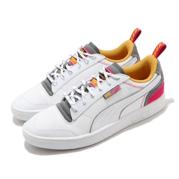 Puma 休閒鞋 Ralph Sampson Helly Hansen 白 灰 紅 女鞋 聯名款【ACS】 37263101