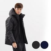 【南紡購物中心】Kings Family 男款防風透濕羽絨衣【KF2110003】