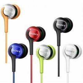 SONY 繽紛色彩入耳式耳機 MDR-EX100LP 多種色彩繽紛百搭 精巧便攜音質絕佳