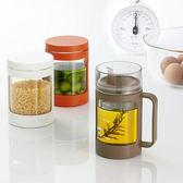 【3款式特惠組】日本ASVEL玻璃調味壺罐深咖啡色