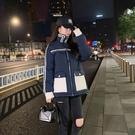 韓版外套羽絨外套 冬季加厚上衣 時尚外套夾克外套 修身顯瘦棉服女生外套 工裝棉襖女士外套
