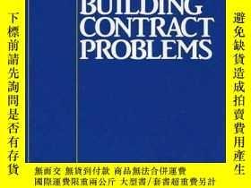 二手書博民逛書店Some罕見Building Contract Problems