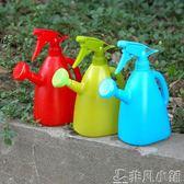 手壓式澆花噴水壺噴霧瓶多肉植物澆水壺家用小型澆花壺噴霧器噴壺     非凡小鋪