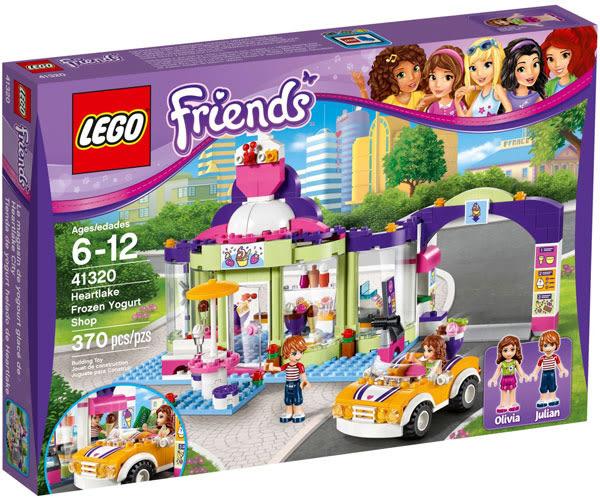 樂高LEGO FRIENDS 心湖城優格冰淇淋店 41320 TOYeGO 玩具e哥