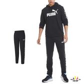 Puma Amplified 男款 黑色 長褲 運動褲 棉褲 慢跑 健身 休閒 褲子 58280501