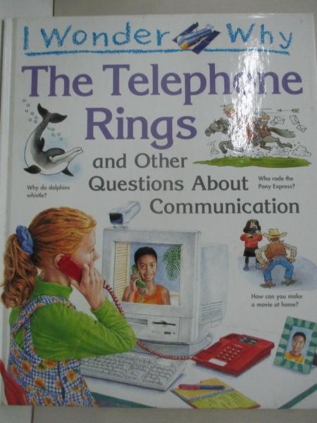 【書寶二手書T1/少年童書_EM4】I Wonder Why the Telephone Ri..._Richard Mead