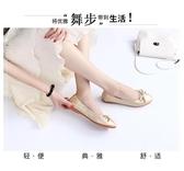 全館83折 豆豆上班蛋卷鞋仙女工作鞋女黑色軟底圓頭軟皮鞋淺口百搭平底單鞋