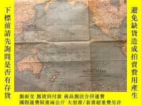 二手書博民逛書店罕見national geographic美國國家地理1942年2月第二次世界大戰太平洋戰場Theater of