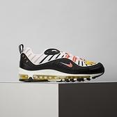 Nike Air Max 98 男鞋 黑白橘 氣墊 復古 氣墊 慢跑鞋 休閒鞋 640744-016