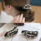 【NiNi Me】韓系髮飾 氣質甜美珍珠...