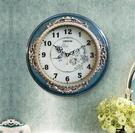 檯球掛鐘桌球創意時鐘個性時尚現代兒童房靜音掛鐘石英鐘表