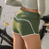 健身短褲女緊身蜜桃臀運動性感提臀高腰夏健身房跑步速干瑜伽短褲
