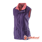 [Wildland] (女) 防風時尚保暖背心 深紫 (0A22703-79)
