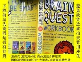 二手書博民逛書店Brain罕見Quest Workbook: Kindergarten 益智練習:K級 英文原版Y253683