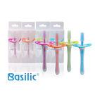 貝喜力克Basilic-矽膠牙刷(顏色隨機出貨)