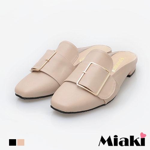 穆勒鞋.韓風都會低跟包鞋 (MIT)