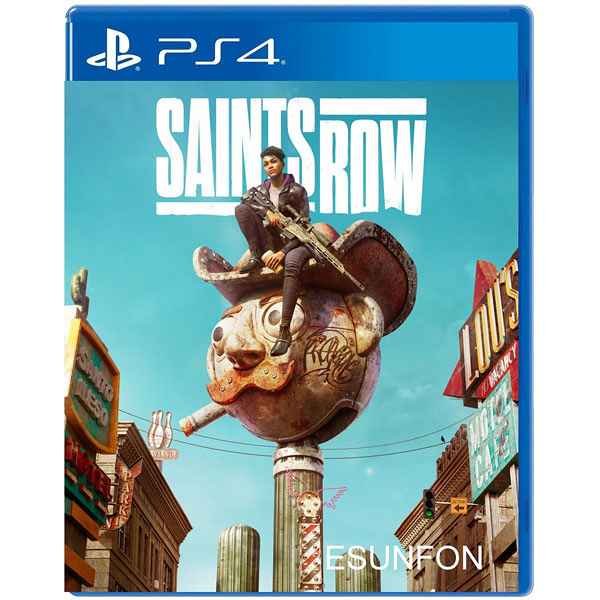 PS4 黑街聖徒 Saints Row Reboot 重啟版 中文版【預購2022/2/25】