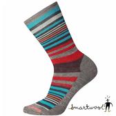 Smartwool 女 木星條紋中長襪『中性灰』SW0SW599 美國製 保暖襪 登山襪 運動襪