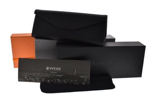 VYCOZ 光學眼鏡 MISTER CRT (透明-紅) 植粹環保簡約鏡框 # 金橘眼鏡