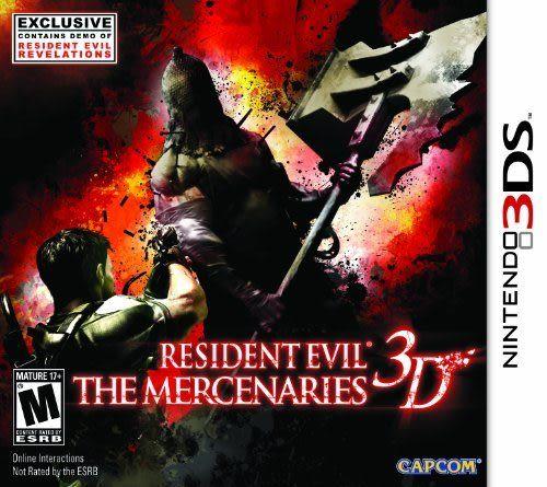 3DS Resident Evil: The Mercenaries 3D 惡靈古堡:傭兵 3D(美版代購)