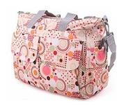 奢途超大媽咪包手提包多功能大容量內膽分隔袋母嬰奶瓶包外出包
