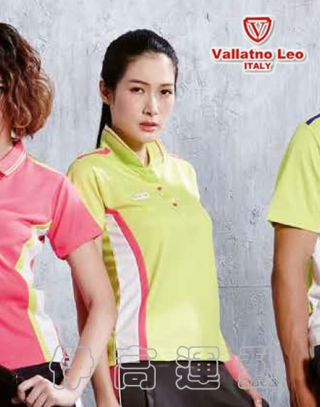 Vallatno Leo范倫鐵諾女款短袖排汗Polo衫VS6210-041819