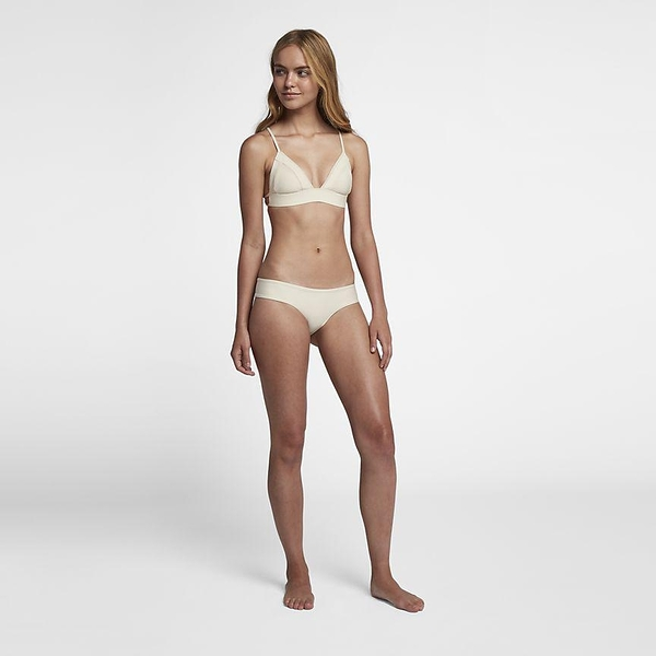 Hurley QUICK DRY HIPSTER SURF BOTTOM 比基尼褲-QUICK DRY-米白(女)
