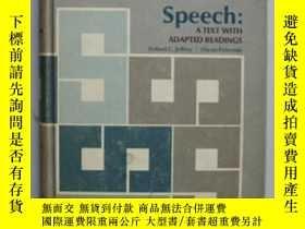二手書博民逛書店Speech:A罕見TEXT WITH ADAPTED READ