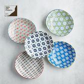 【有種創意】日本美濃燒 - 絢麗粉彩咖哩盤組 (5件式)