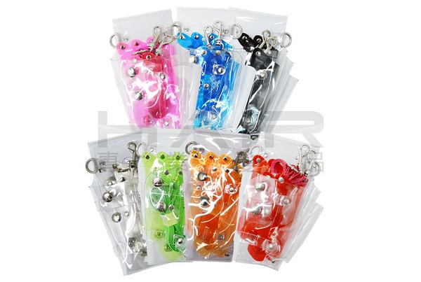 透明果凍剪刀包 5支入(T26B)【HAiR美髮網】