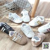 學步鞋 0-2歲小波鞋女嬰兒鞋軟底防滑學步鞋寶寶鞋運動休閒透百搭嬰兒 聖誕慶免運