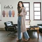 LULUS-E連袖長版開襟針織外套-4色...