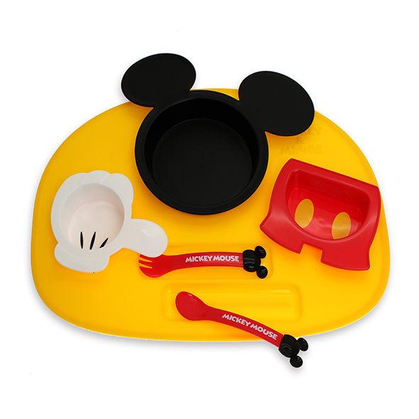 AKACHAN阿卡將 迪士尼 Disney米奇6件式餐具組