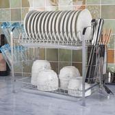 (超夯免運)碗架瀝水架廚房置物架家用晾碟盤子裝碗筷收納盒箱洗碗池