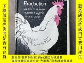 二手書博民逛書店[英文原版]Poultry罕見Production家禽生产(精装)Y20199 出版1979