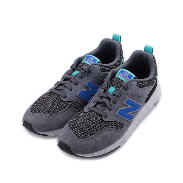 NEW BALANCE 009 V1 復古跑鞋 灰藍綠 MS009OAB 男鞋