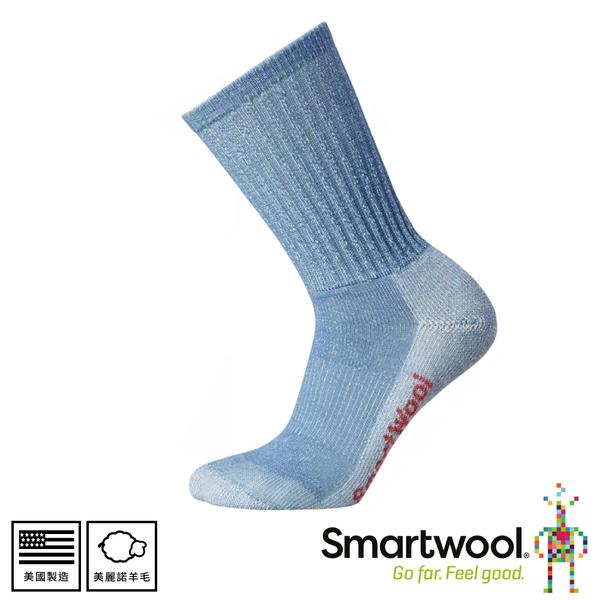 【SmartWool 美國 女健行輕量減震中長襪《鋼鐵藍》】SW0SW293/排汗襪/保暖襪/中長襪/運動襪
