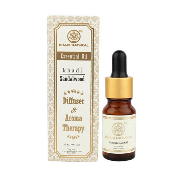 印度 Khadi 檀香精油 10ml 新包裝 Sandalwood Essential Oil【PQ 美妝】