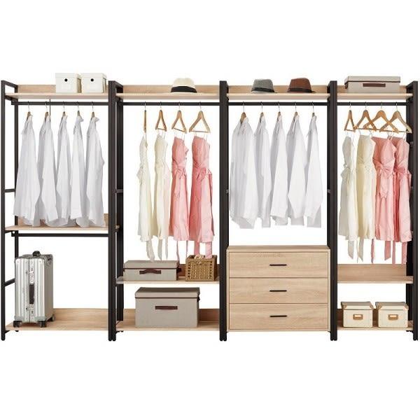 衣櫃 衣櫥 MK-589-1234 艾麗斯9尺衣櫥 【大眾家居舘】